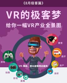 一分钟带你详解VR极客梦之VR产业全景图截图