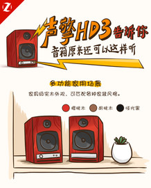 声擎HD3告诉你 音箱原来还可以这样听截图