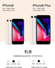 iPhone8和Plus哪不一样?一图让你看明白截图