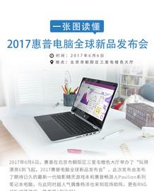一张图读懂2017惠普电脑全球新品发布会截图