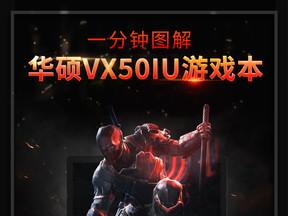 图解华硕VX50IU游戏本!